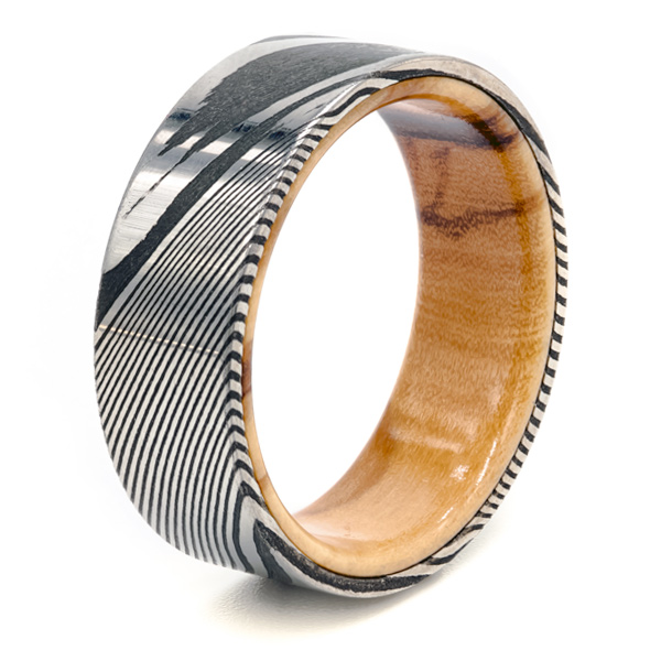 damascus mens ring